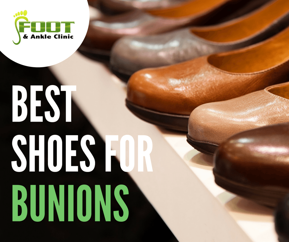 aca0afcdb83 The Best Shoes for Bunions - Foot and Ankle Clinic