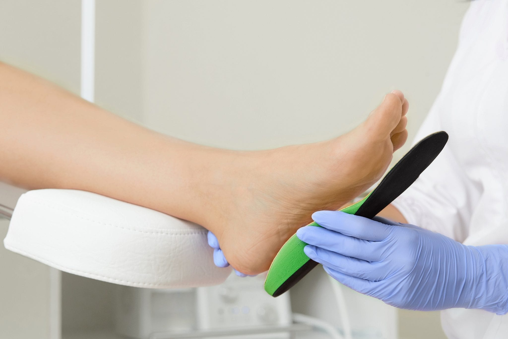 How do custom orthotics help heal your